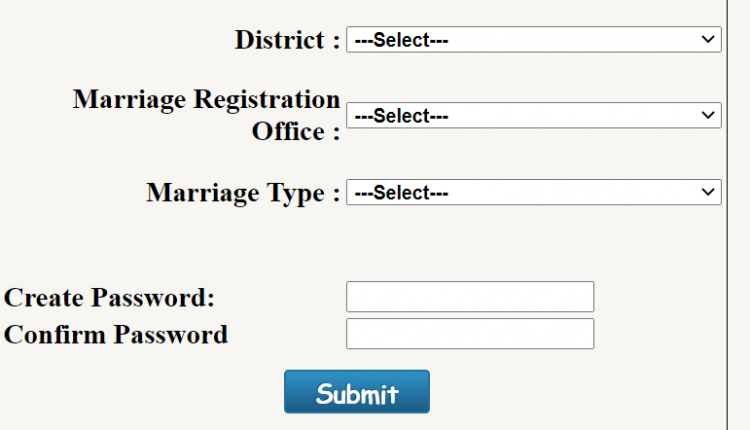 maharashtra marriage registration online other districts